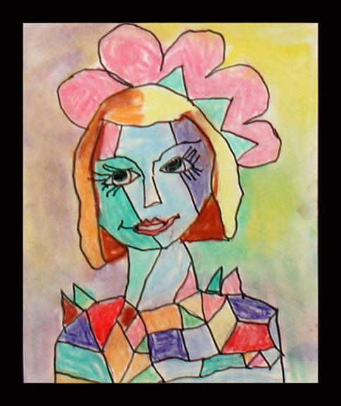 Picasso Self Portraits For Kids Picasso self-portrait by